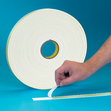 "1/2"" x 72 yds. (1 Pack) 3M<span class='tm'>™</span> 4032 Double Sided Foam Tape"