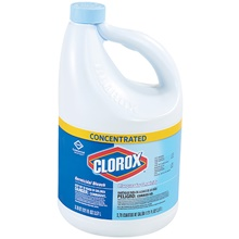 Clorox<span class='rtm'>®</span> Concentrated Bleach - 121 oz.